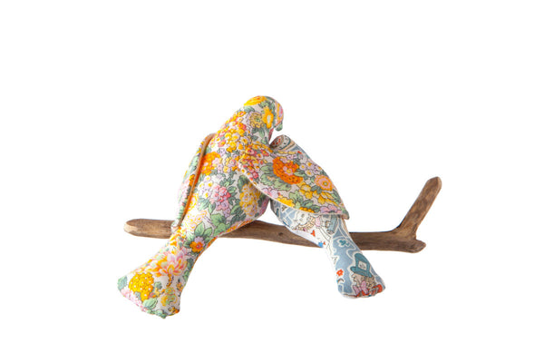 Liberty Print 'Under my Wing' Bird Cot Mobile