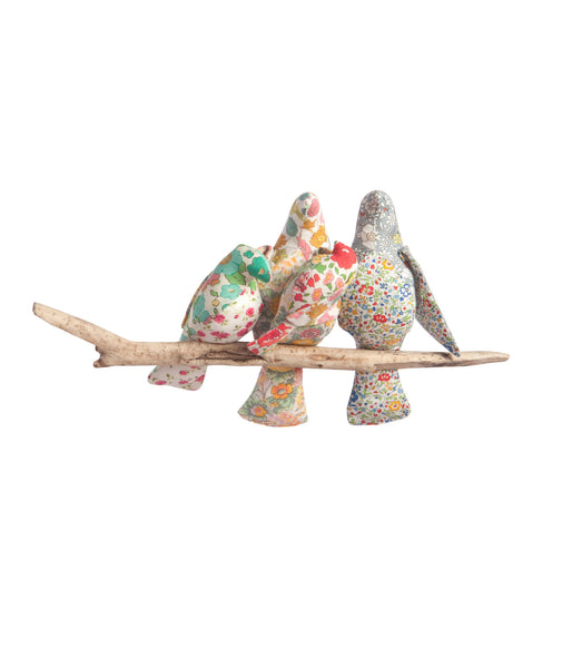 Liberty print 'The four of us' Bird Mobile