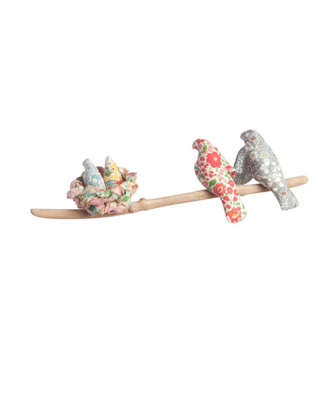 Liberty Print  'Family' Nesting Bird Cot Mobile