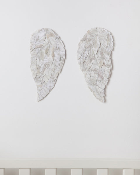 Angel Wings Wall decor, handmade from Liberty print