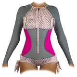 Sirensong Wetsuits | Bella Long-Sleeve Hawaiian-Cut Springsuit