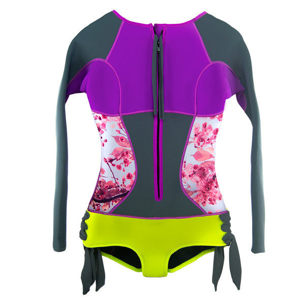 Sirensong Wetsuits | Blossom Long-Sleeve Booty-Cut Springsuit