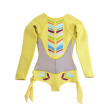 Sirensong Wetsuits | Carrie Long Sleeve Hawaiian-Cut Springsuit