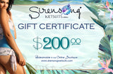 Sirensong Gift Certificate