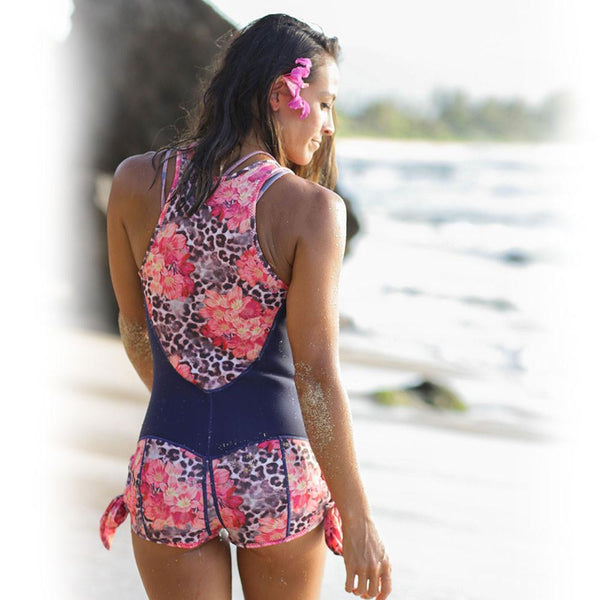 Sirensong Wetsuits | Malabar Sleeveless Booty-Cut Springsuit