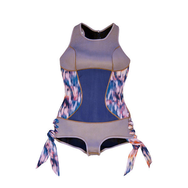 Sirensong Wetsuits | Poema Sleeveless Booty-Cut Springsuit (Large)