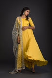 The Sunshine Anarkali Set