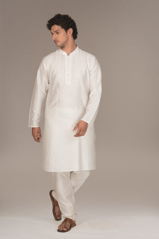The Vanilla Kurta Set