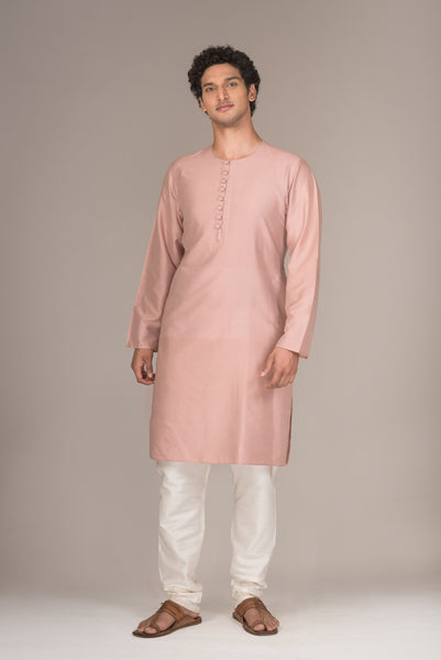 The Burnt Salmon Kurta Set