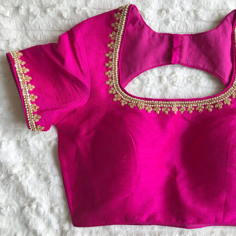 The Pink Amour Blouse
