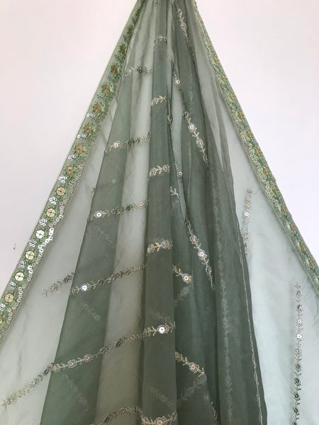 The Sage Lehariya Dupatta