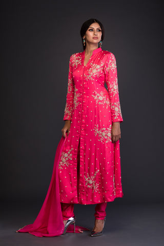 The Watermelon Bloom Kurta Set