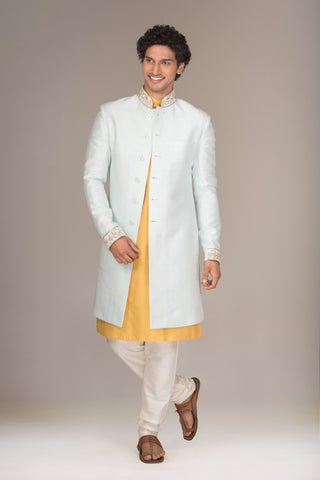 The Powder Blue Shervani