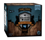 Fare Game pour chat (poulet-saumon-boeuf) (4x0.5lb)