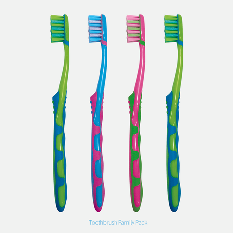 Toothbrush Family Pack (4 pieces)