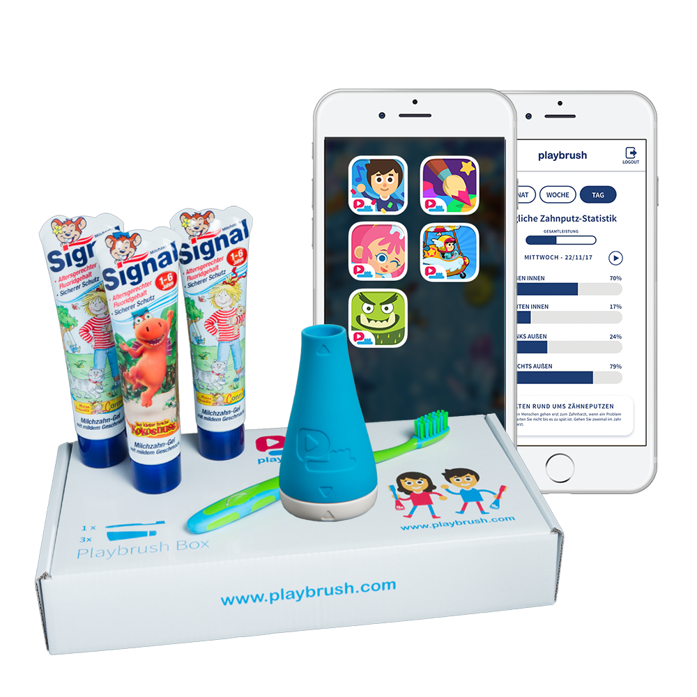 Playbrush + Games and Care Subscription