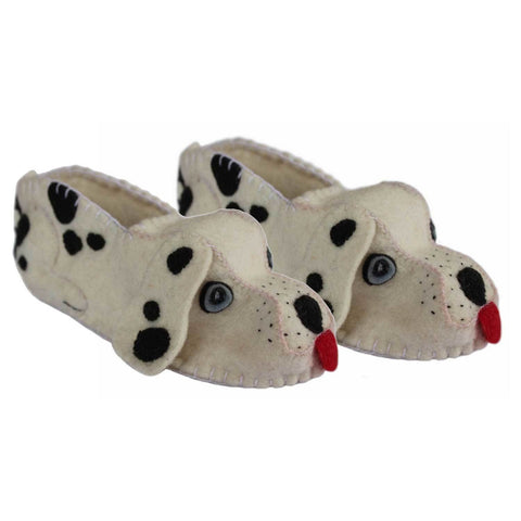 Dalmation Slippers Adult - Silk Road Bazaar
