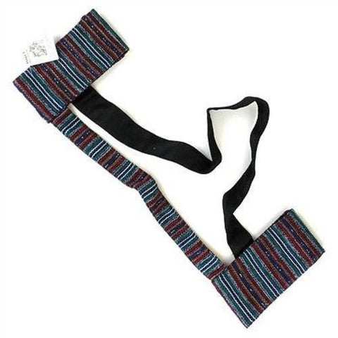 Hand Woven Sololá Yoga Mat Sling in Multicolor Handmade and Fair Trade