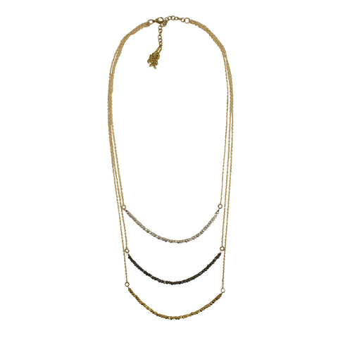 Delicate Layers Necklace - WorldFinds