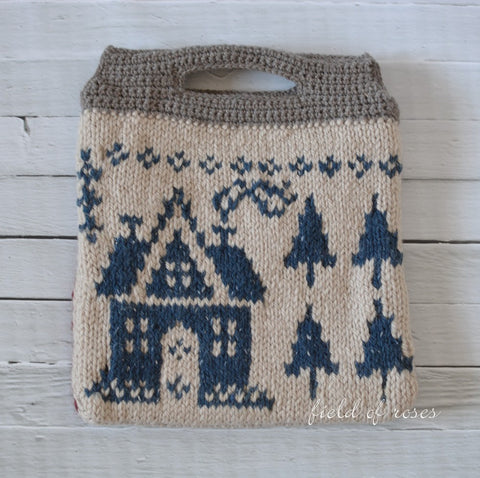 Handmade Knitted Bag Village