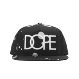 Splatter 3D Embroidered Snapback