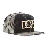Cloud Wash Large Gold Logo Snapback