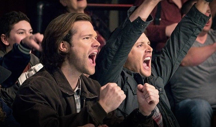 'SUPERNATURAL' STARS JENSEN ACKLES AND JARED PADALECKI ARE BROTHERS OFF SCREEN AS WELL