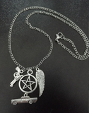 Supernatural Winchesters Charm Necklace - Necklace - Supernatural-Sickness - 1