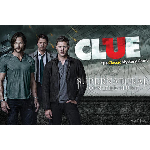 Supernatural Collector's Edition Clue Game - Clue Game - Supernatural-Sickness - 1