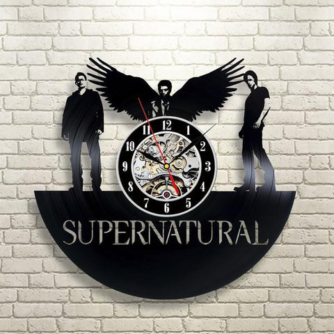 Supernatural Vinyl Record Wall Clock -  - Supernatural-Sickness - 1