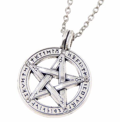 Supernatural Silver Tibetan Necklace (Free Shipping)