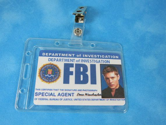 Supernatural Inspired FBI Badge – Supernatural-Sickness