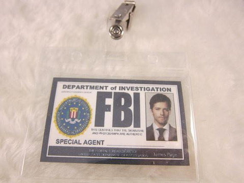 Supernatural Inspired FBI Badge - Castiel - Badge - Supernatural-Sickness