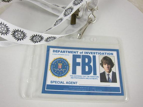 Supernatural Inspired FBI Cosplay Badge - Badge - Supernatural-Sickness - 1