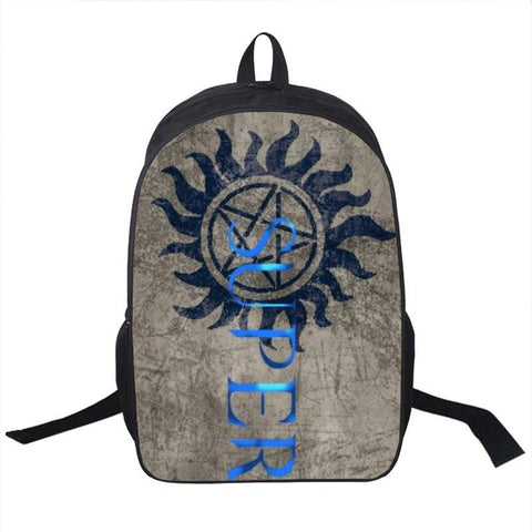 Supernatural Anti Possession Backpack Bag - Bags - Supernatural-Sickness