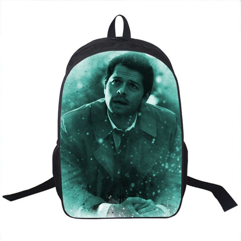 Supernatural Castiel Backpack Bag - Bags - Supernatural-Sickness