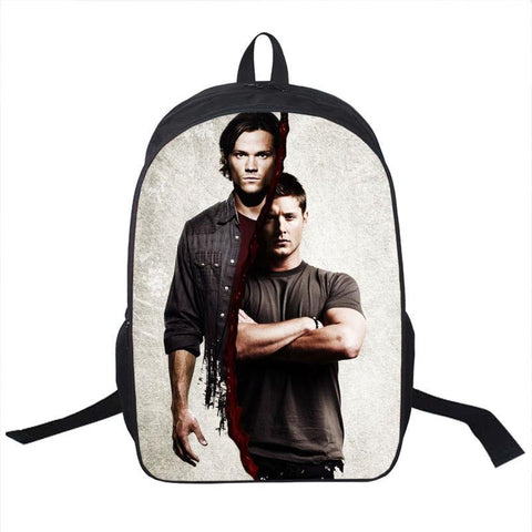 Supernatural Dean Sam Backpack Bag - Bags - Supernatural-Sickness