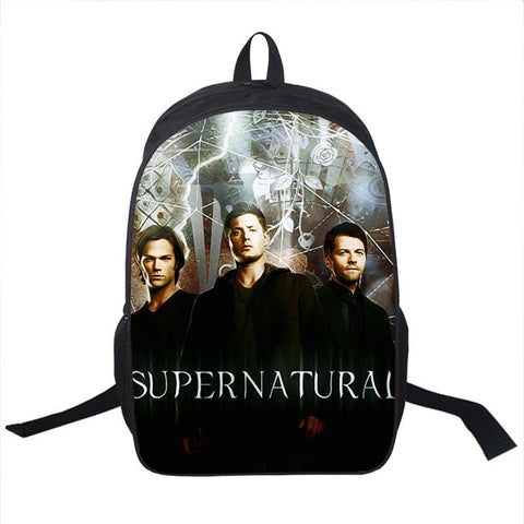 Supernatural Dean Sam Cas Backpack Bag - Bags - Supernatural-Sickness