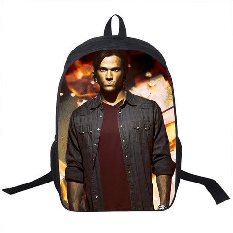 Supernatural Sam Winchester Backpack Bag - Bags - Supernatural-Sickness