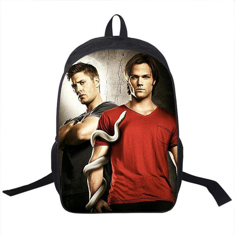 Supernatural Winchester Bros Backpack Bag - Bags - Supernatural-Sickness