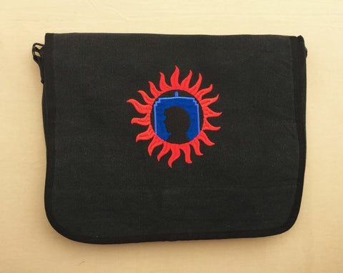 SuperWhoLock Embroidered Messenger Bag - Bags - Supernatural-Sickness - 1