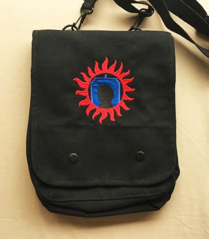 Superwholock Embroidered Tablet Bag - Bags - Supernatural-Sickness - 1