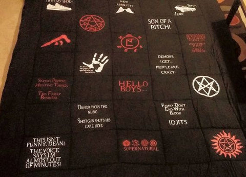 Queen Size - Supernatural Blanket - Blanket - Supernatural-Sickness - 1