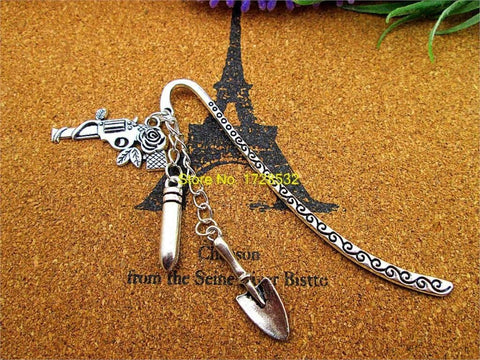 Supernatural Gun Bullet Shovel Charm Bookmark - Bookmark - Supernatural-Sickness