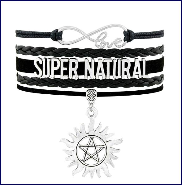 Supernatural Angel Wings Pentagram Bracelet - Bracelet - Supernatural-Sickness - 2