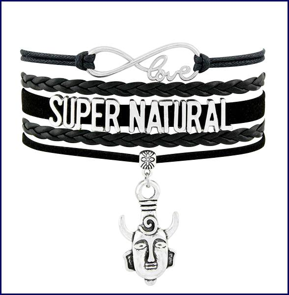 Supernatural Angel Wings Pentagram Bracelet - Bracelet - Supernatural-Sickness - 3