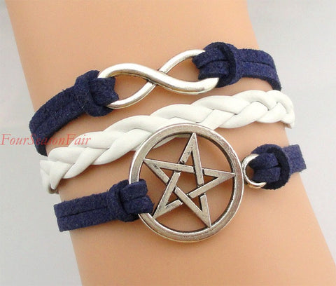 Supernatural Multilayer Pentagram Bracelet (Free Shipping) - Bracelet - Supernatural-Sickness - 1
