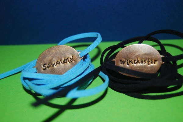 Set of 2 Brass Wrap Bracelets -supernatural - Bracelets - Supernatural-Sickness - 2