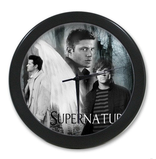 Supernatural Dean Sam Cas Wall Clock - Clock - Supernatural-Sickness - 1