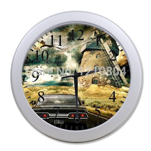 Supernatural KAZ 2YZ Wall Clock - Clock - Supernatural-Sickness